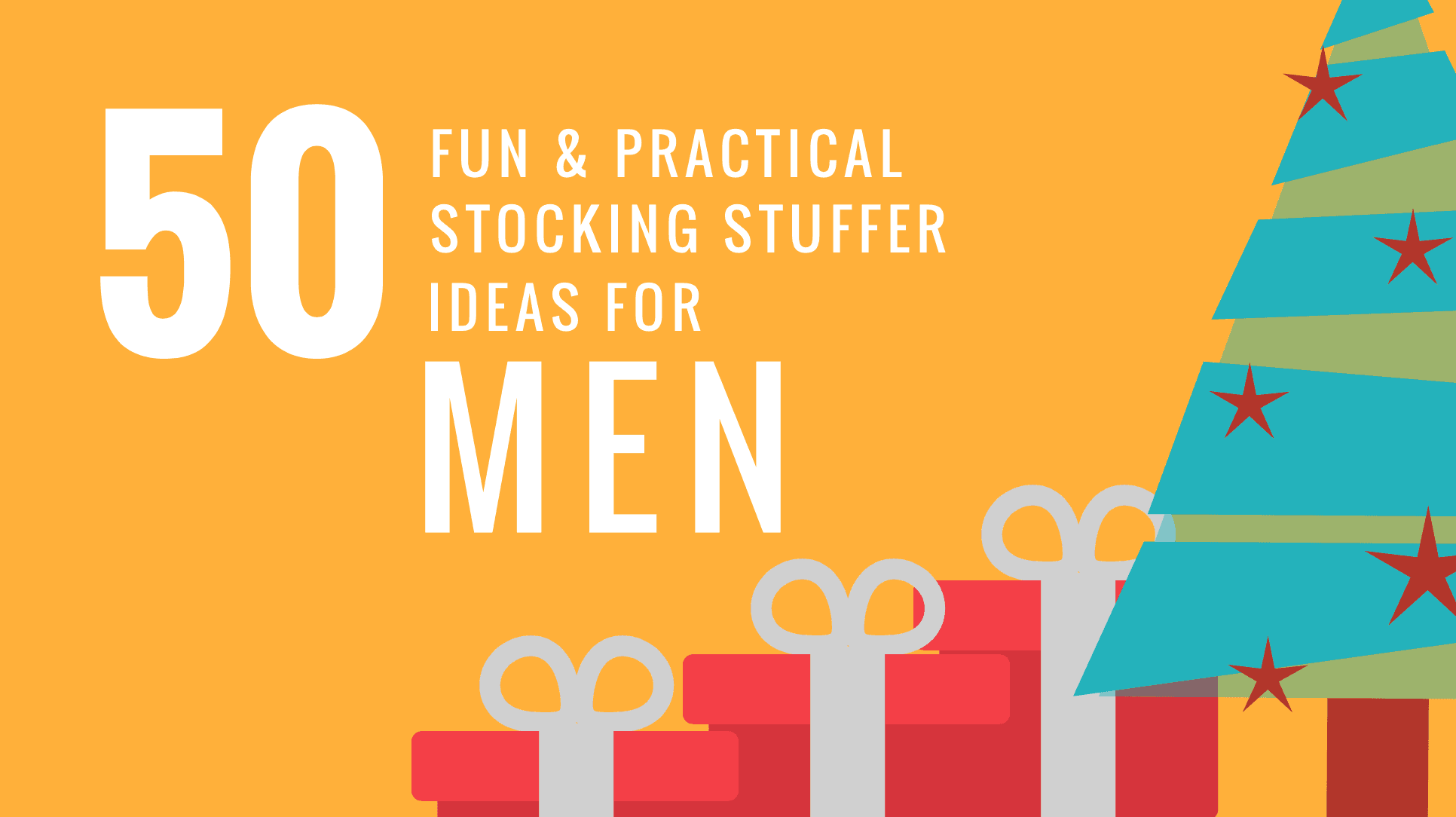 Helping you find gifts for the men-in-your life that are small, meaningful and fit into a stocking! Here are 50 excellent stocking stuffers for him! 50 Stocking Stuffers For Him. Men's Stocking Stuffer Ideas at Every Price Point.