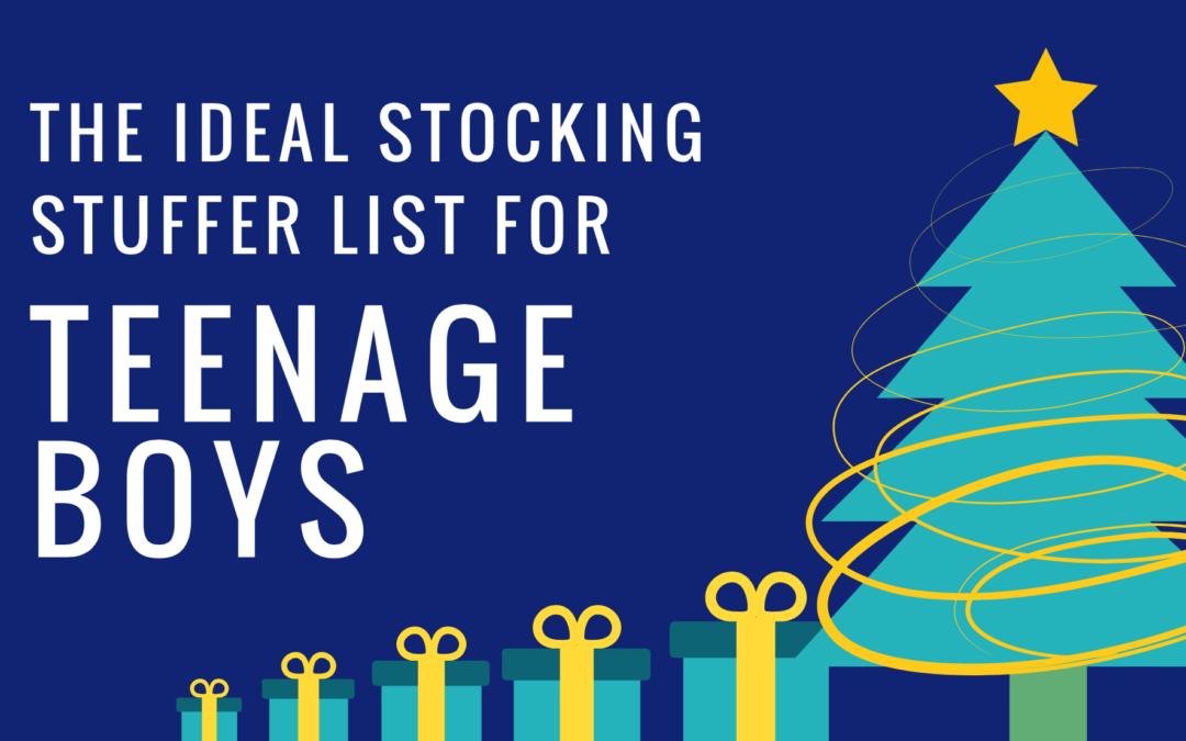 Stocking Stuffer Ideas For Teenage Boys Stuffers For Stockings