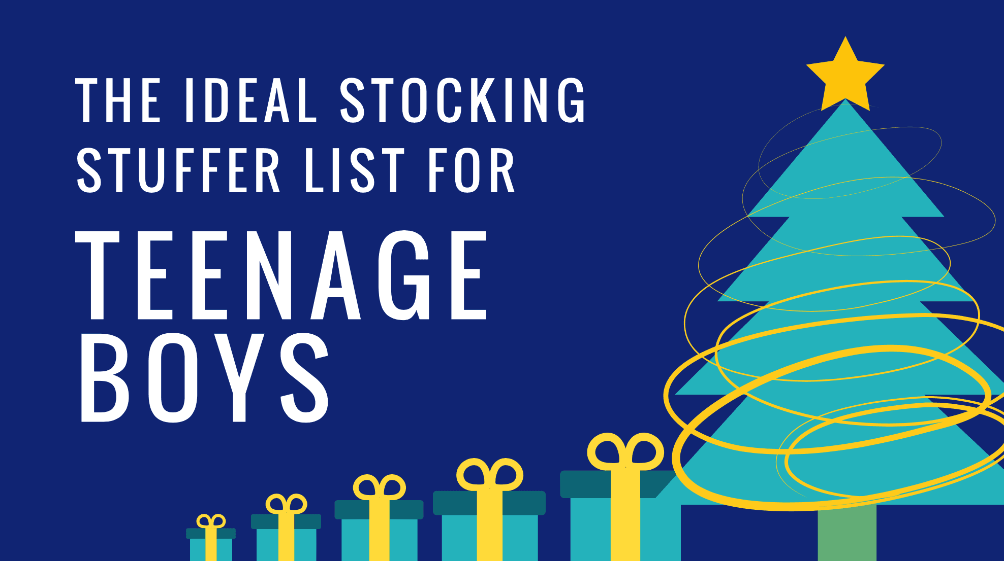 Stocking Stuffer Ideas For Teenage Boys Stuffers For