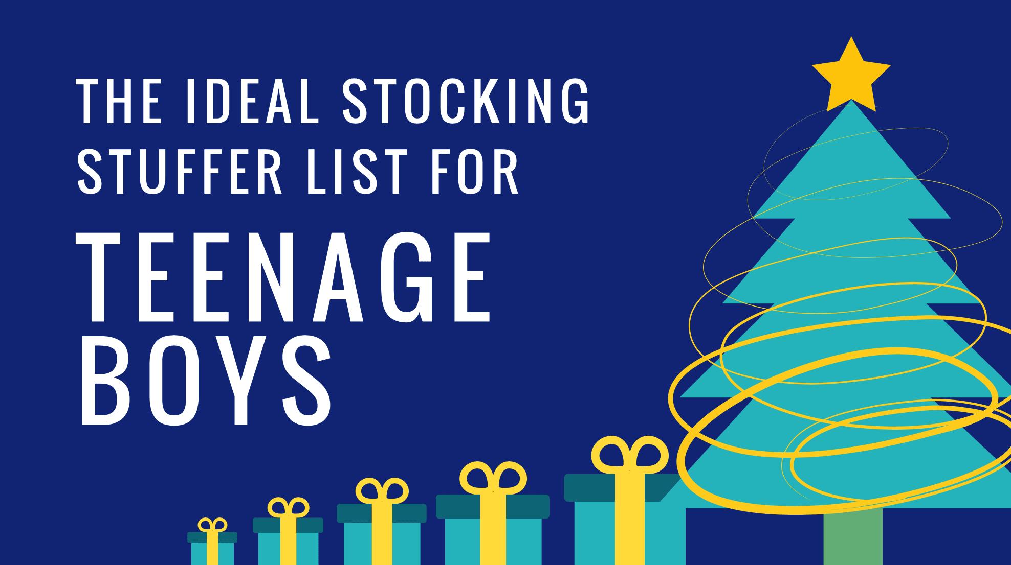 stocking stuffer ideas for teenage boys